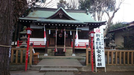 天縛皇神社へ初詣に行って来ました。