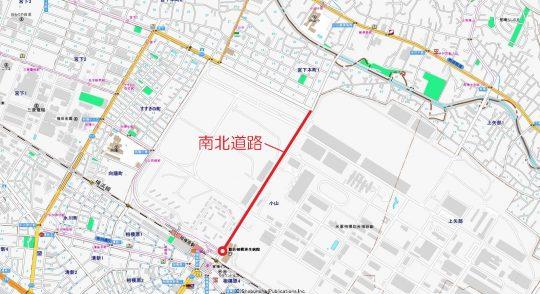 南北道路 2017月4月22日(土)開通