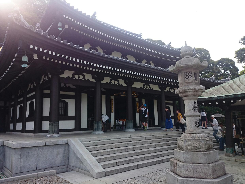 鎌倉で写経