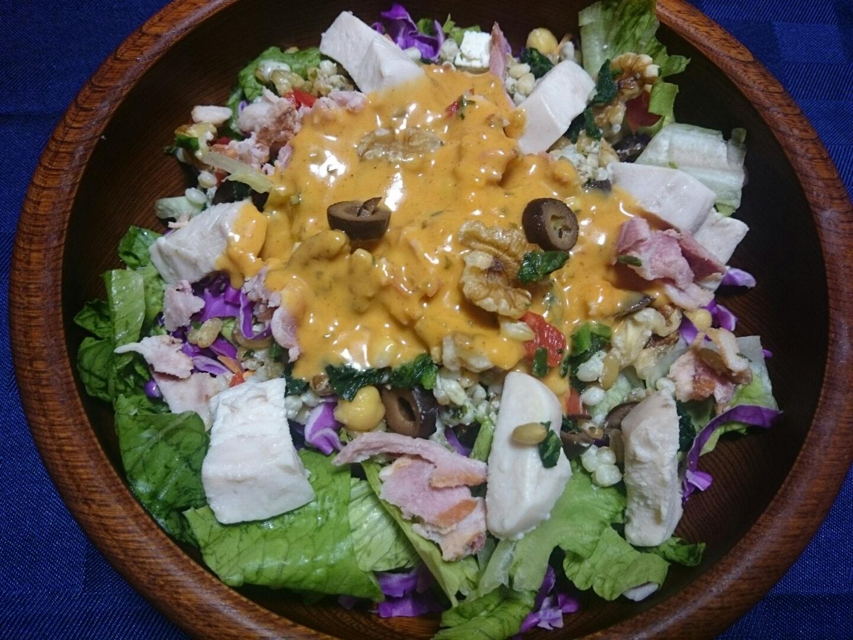 コストコのサラダ