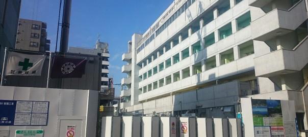 橋本三丁目の建設工事