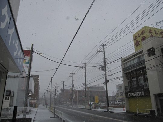 橋本の大雪 2018年1月22日