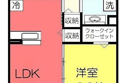 SakulaⅡ 相模原市緑区東橋本2 橋本駅 1LDK