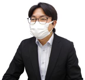 マスク着用で飛沫感染対策